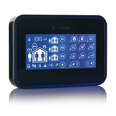 Visonic PowerMaster Wireless Two-Way Touch-Screen Keypad and Proximity Black 0-102719