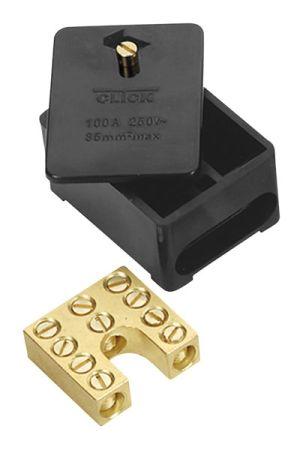 Click Essentials Single Pole 100a Henley Block