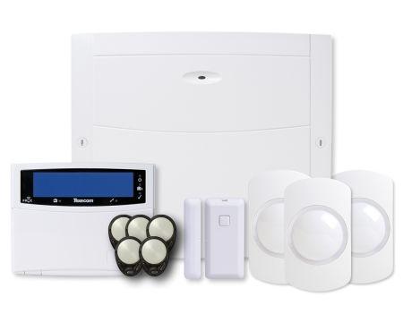 Texecom Ricochet Premier Elite 64W Wireless Alarm Kit with Wired Keypad | KIT-1086