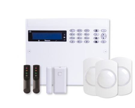 Texecom Ricochet Premier Elite 64W-LIVE Wireless Alarm Kit | KIT-1003