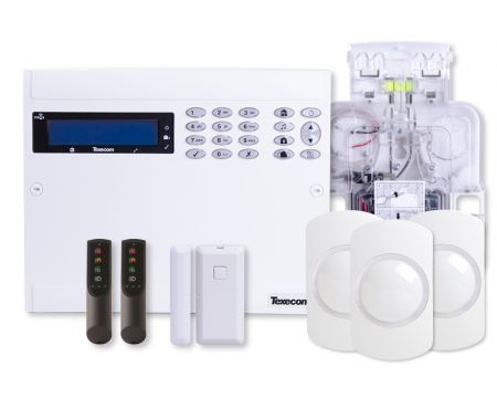 Texecom Ricochet Premier Elite 64W-LIVE Wireless Alarm Kit | KIT-1004