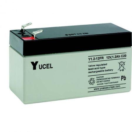 Yuasa Yucel 1.2-12v Back Up Battery For Burglar Alarm Control Panels | V140401