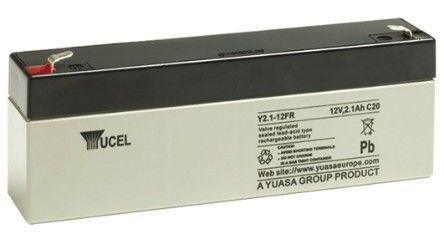 Yuasa Yucel 2.1 12v Back Up Battery For Burglar Alarm Control Panels | V140601