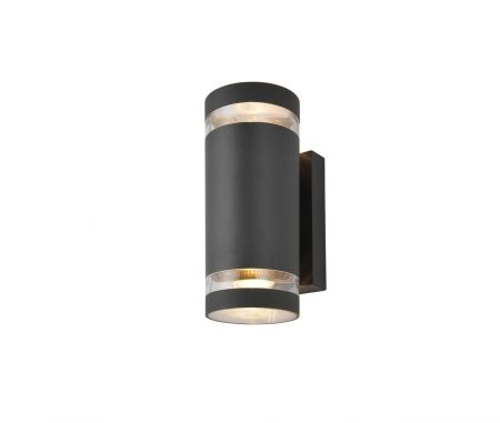 Zinc ZN-29189-ATR Lens Up and Down Wall Light Anthracite