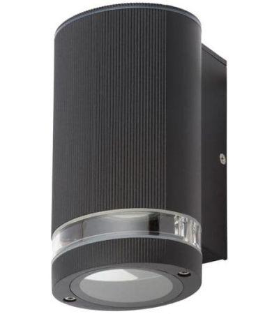 Zinc Helix Outdoor Down Light | ZN-35593-BLK