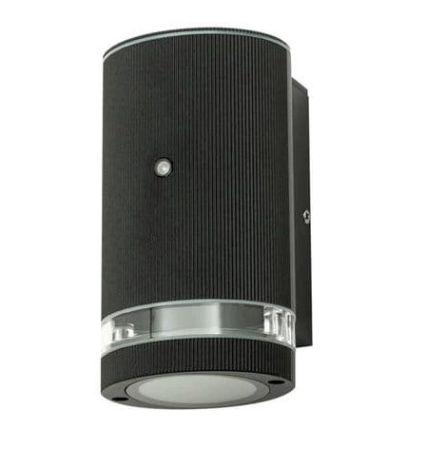 Zinc Helix Photocell Outdoor Down Light Black | ZN-35686-BLK