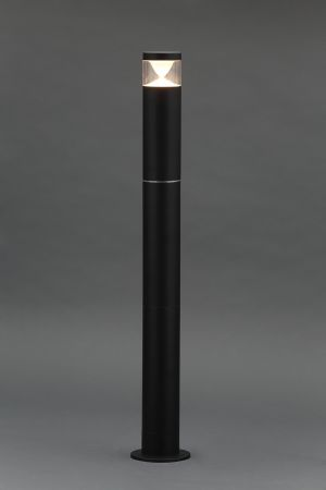 Zinc Pollux Adjustable 4w LED Post Light 3000K Black   ZN-33394-BLK