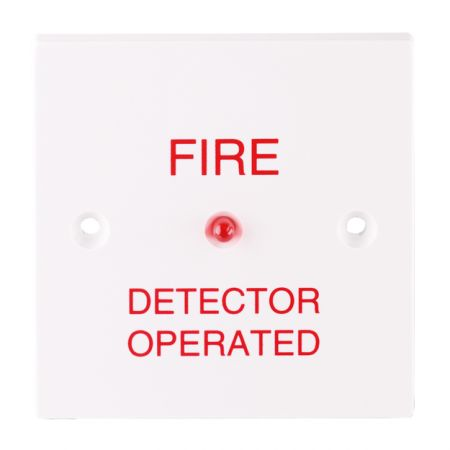 ESP Fireline Fire Alarm Remote LED Indicator Plate
