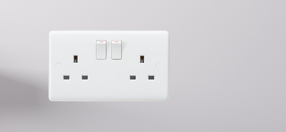 Knightsbridge Curved Edge Switches and Sockets