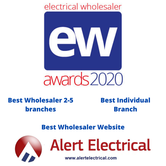 Vote for Alert Electrical Wholesalers at the Electrical Wholesaler Awards 2020