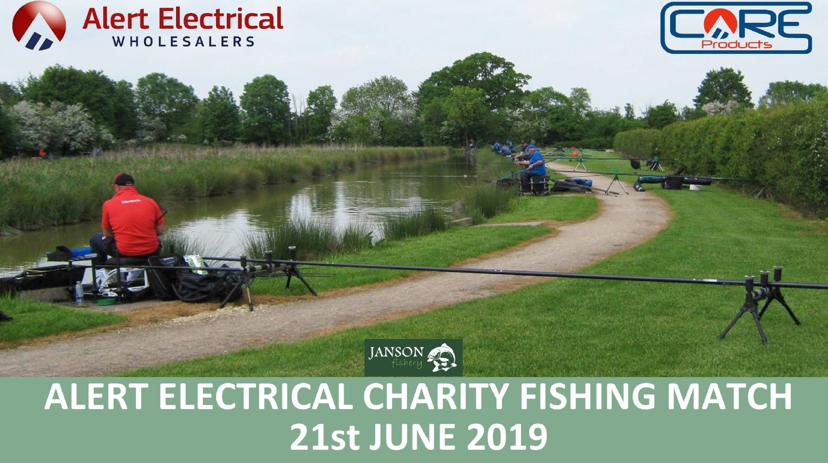 Dust Off Those Rods & Let's Go Fishing. Alert Electrical Wholesalers Charity Fishing Day