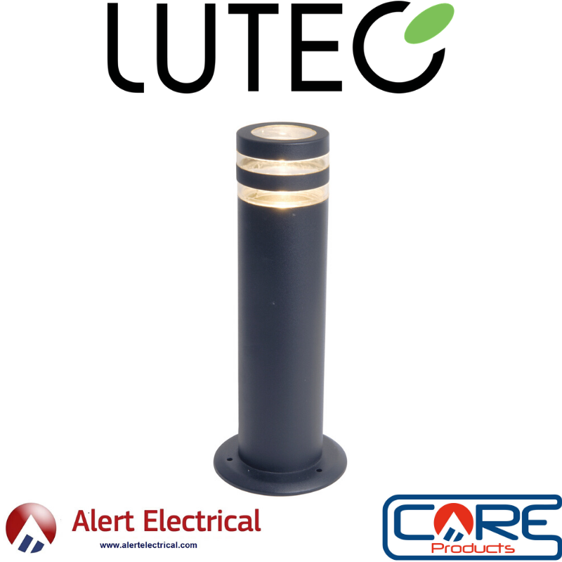 June Managers Special. Lutec Focus 35w GU10 Post Light in Anthracite Grey only £19.99 + Vat
