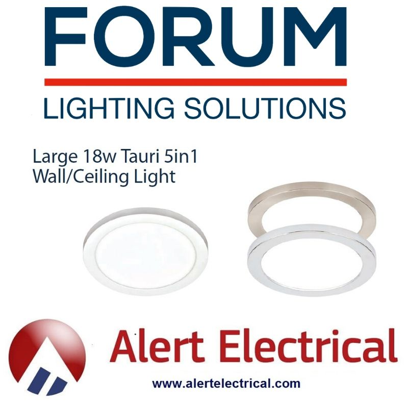 Struggling to find a light fitting for the big hole in your Celiling?  The Tauri from Forum Lighting is the perfect solution.
