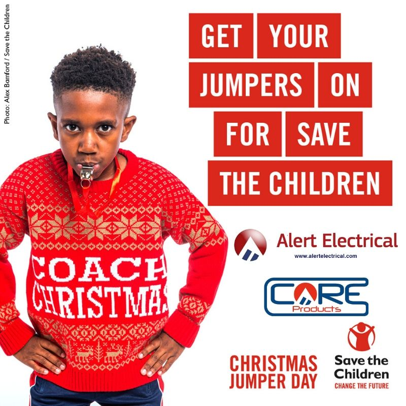 Save The Children's Christmas Jumper Day @ Alert Electrical Wholesalers