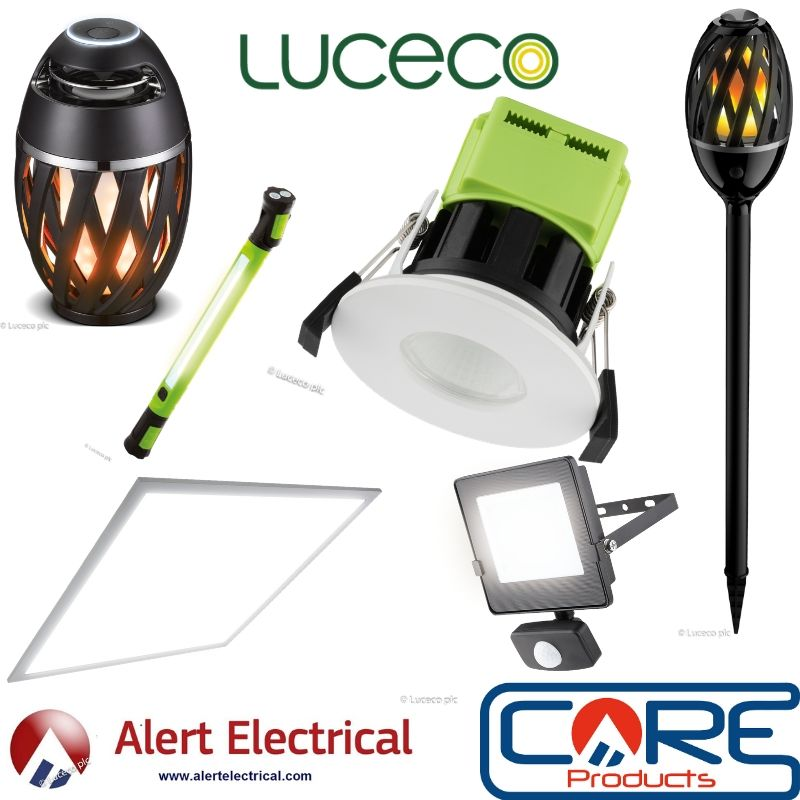 Alert Electrical are now Stockist of Luceco LED lighting Products.