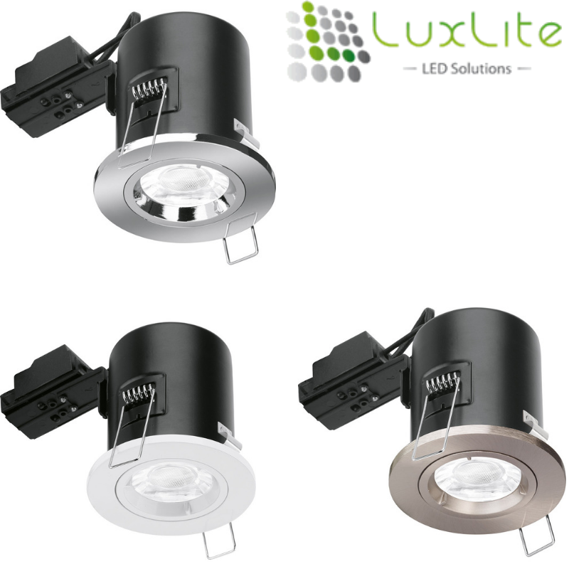 Want to Change your downlights but the wallet says no!  LuxLite Fire Rated Downlights are a price which you cannot ignore!