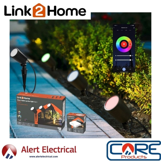 Link2Home 3 in 1 Smart Garden Full RGB Spike Light Kits Are now in stock