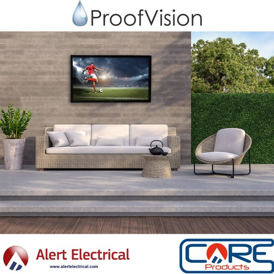 ProofVision Aire Plus Range of Weatherproof Smart TVs now available to order