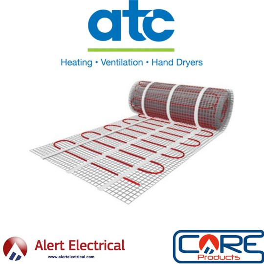 Comfortable, efficient and economical addition to your home. ATC Electric Underfloor Heating Mats