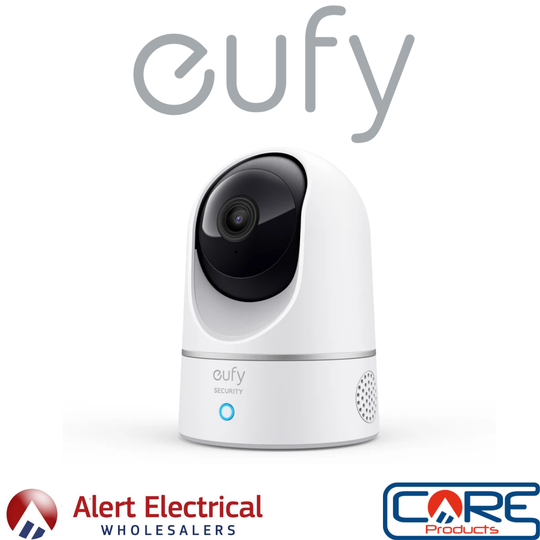 Eufy Solo IndoorCam 2K Pan and Tilt Plug-in Indoor Security Camera now available to order