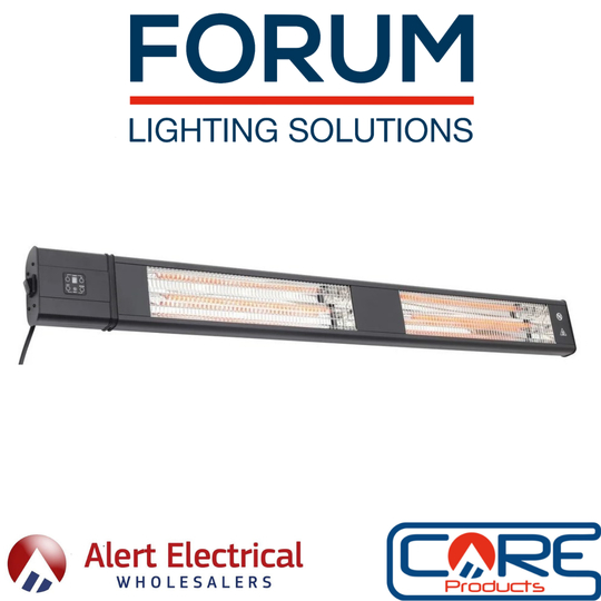 Great News. The Highly Popular Forum Glow IP65 3000W Wall Mounted Infrared Patio Heater is now back in Stock!