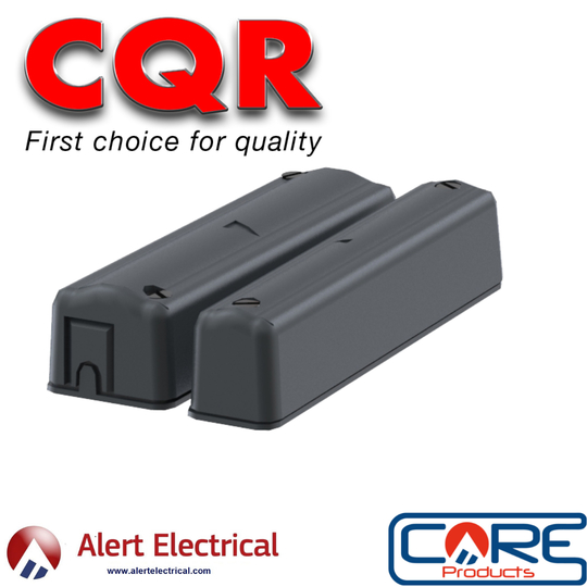 Wired Alarm Contacts now in Anthracite Grey from CQR