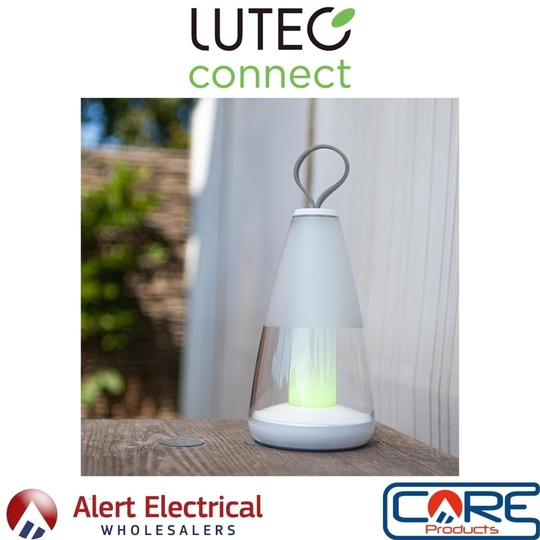 The first of many new additions from the Lutec Connected range. Pepper Portable Table Lamp