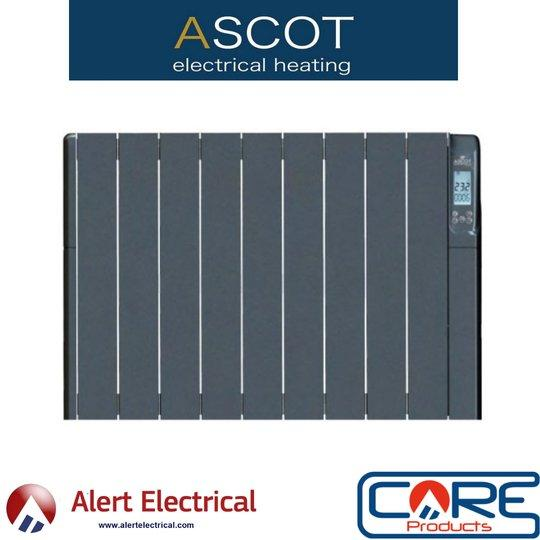 Ascot G-Series of electric heaters in Graphite now available to order