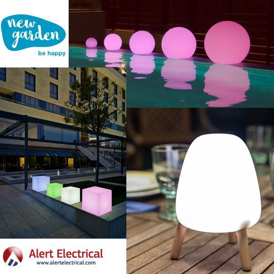 Newgarden Be Happy Home Living Outdoor Lighting & Garden Furniture now at Alert Electrical
