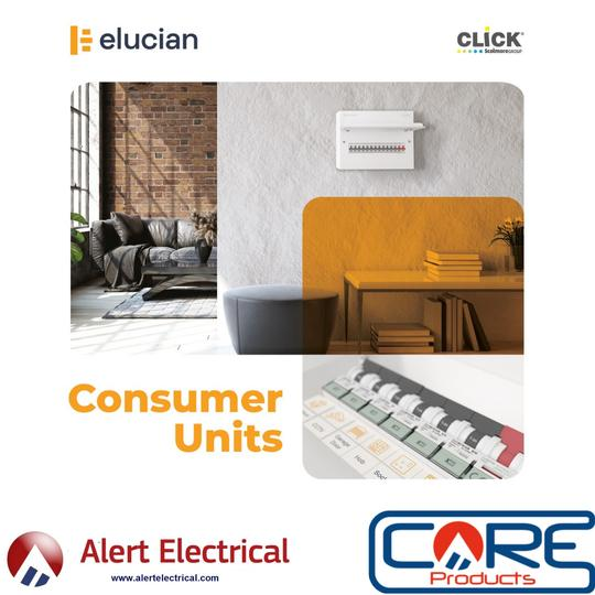 Click Elucian by Click Scolmore Circuit Protection range now available from Alert Electrical.