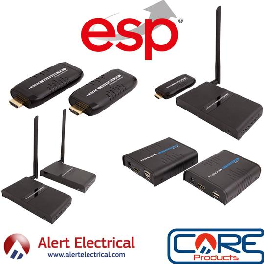 Don't Let HDMI Cables Hold You Back with the ESP range of HDMI Wire-Free Extenders