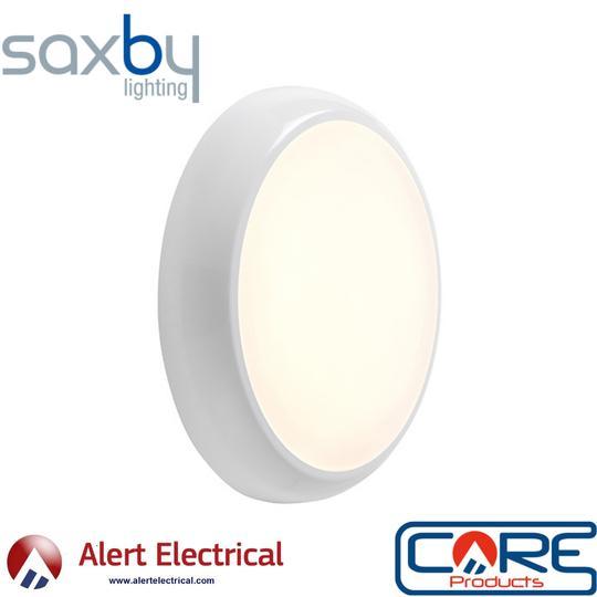 Every Lighting Application Need's a Hero! Saxby Lighting Hero CCT IP65 18W Bulkhead Light