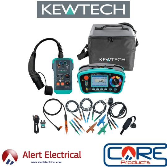Kewtech Ev Test equipment available for pre-order from Alert Electrical