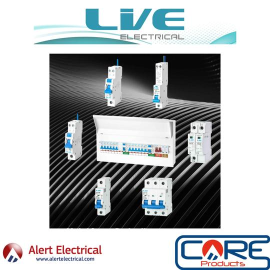 LIVE Electrical Consumer Units Now Available from Alert Electrical