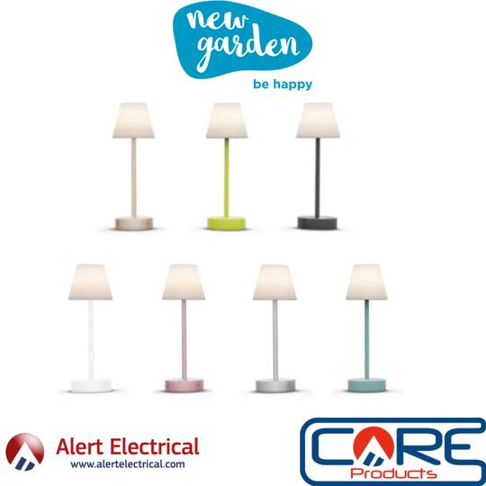 Be Happy LOLA SLIM30 USB Rechargeable Table Lamp now available to Order.
