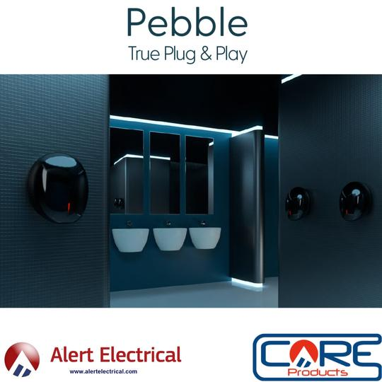 Pebble Mini Plug & Play Hand Dryer from Velair now in Stock.