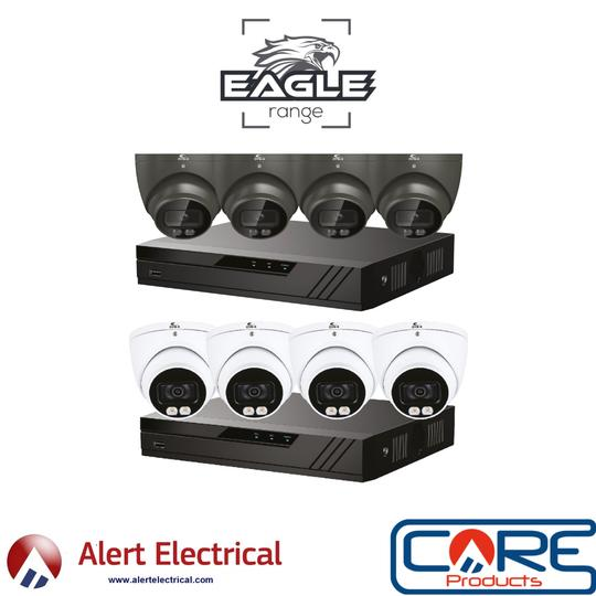 Qvis Eagle POE Colourview Plus IP CCTV Systems now available to Order