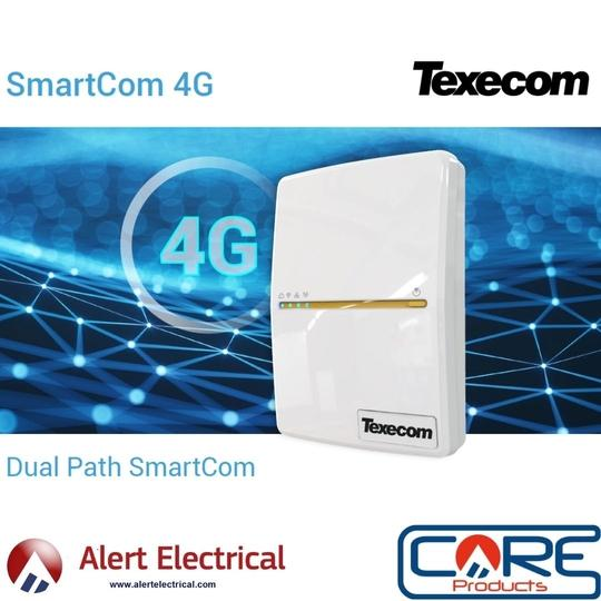 The New SmartCom 4G adds new connectivity options for Texecom Premier Elite Alarm System