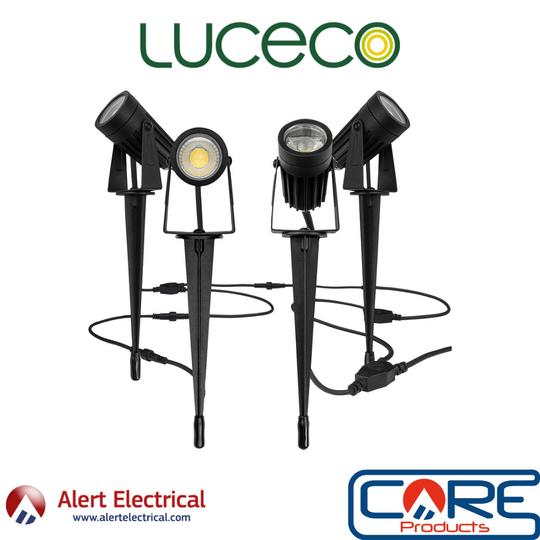 """The Easy plug and play """"DIY"""" Garden Spike Kit from Luceco"""