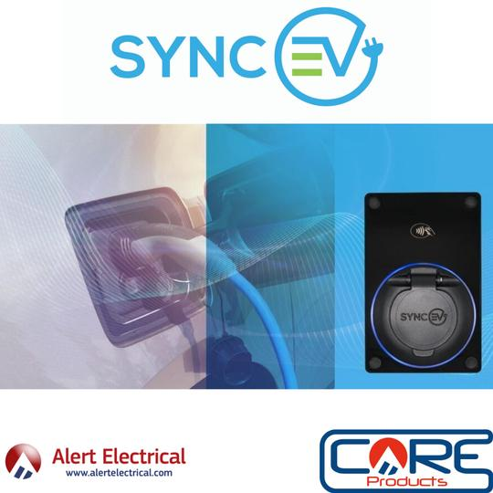 The Compact Domestic EV Car Charger from Sync EV