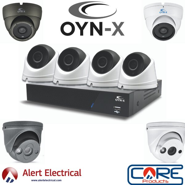 Alertelectrical.com are now stockists of OYN-X Kestrel Analogue & IP POE CCTV Systems