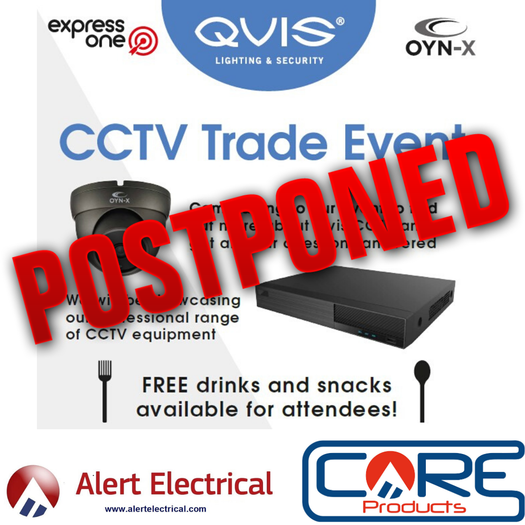 Alert Electrical Ilkeston CCTV Trade Day **Postponed**