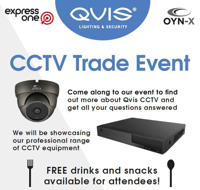 Alert Electrical Ilkeston CCTV Trade Day Event in partnership with Qvis.