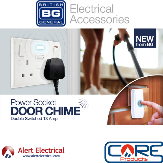 The Double Socket Socket with Built-in Door Chime