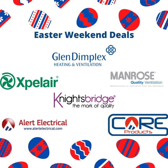 Alert Electrical Easter Weekend Deals.
