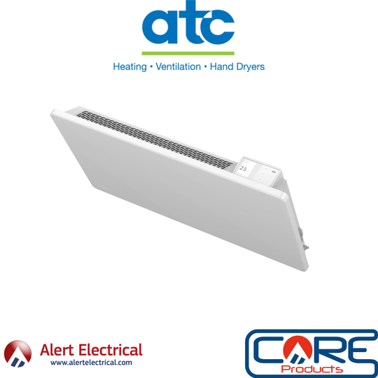 The Easy to Program and Install Lot 20 Compliant Electric Panel Heater. ATC Almeria ECO