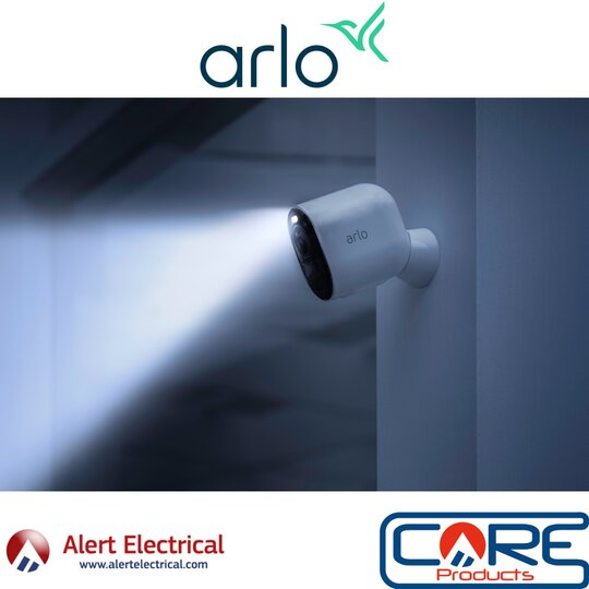 Take Control of your Home Security from the Outside in with the Arlo range of Security devices.