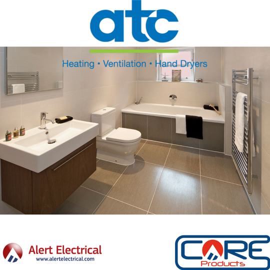 ATC Electric Towel Rails Now in Stock & Selling Fast!