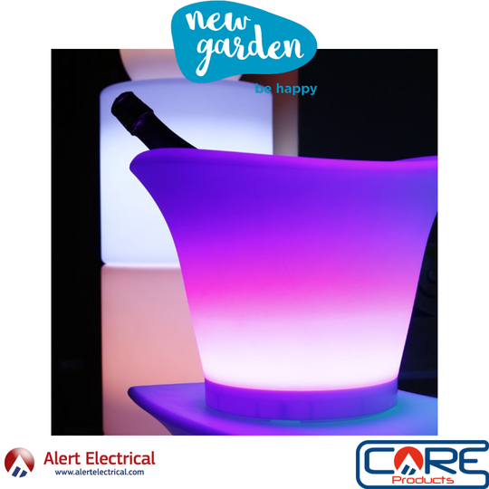The Must have for your Garden this Summer. NewGarden RGBW LED Ice Bucket / Plant Pot