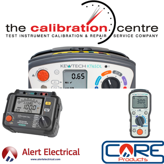 Alert Electrical 2021 Calibration Days in partnership with The Calibration Centre